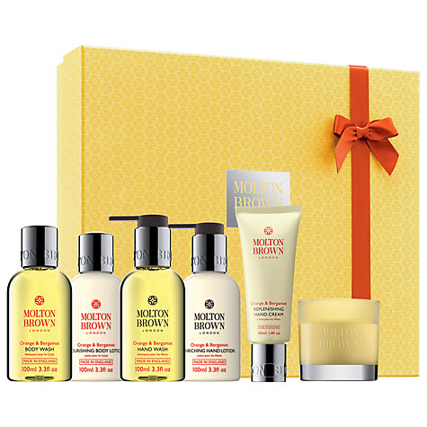 Buy Molton Brown Limited Edition Orange & Bergamot 30th Anniversary Hamper Online at johnlewis.com