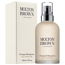 Buy Molton Brown Orange & Bergamot Eau Fraiche Spray, 100ml Online at johnlewis.com