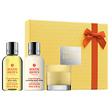Buy Molton Brown Limited Edition Orange & Bergamot 30th Anniversary Indulge Collection Online at johnlewis.com