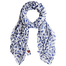 Buy Joules Wensley Woven Scarf, Painty Hare Online at johnlewis.com