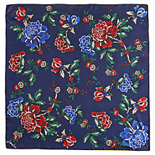 Buy Joules Clarence Silk, Navy Online at johnlewis.com