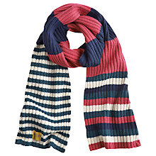 Buy Joules Bawdy Scarf, Pink Online at johnlewis.com