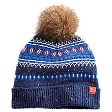 Buy Joules Fairlee Hat, Navy Online at johnlewis.com