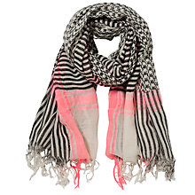 Buy Becksondergaard Star Cube Scarf, Pink Online at johnlewis.com