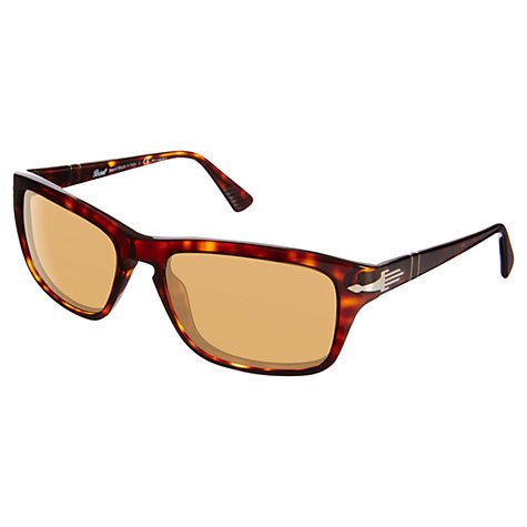 Buy Persol PO3074S Rectangular Sunglasses Online at johnlewis.com