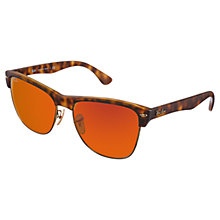 Buy Ray-Ban RB4175 609217 Clubmaster Oversized Sunglasses Online at johnlewis.com