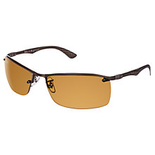 Buy Ray-Ban RB8315 Rectangular Metal Frame Sunglasses Online at johnlewis.com