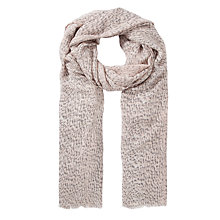 Buy Somerset by Alice Temperley Animal Print Scarf, Natural Online at johnlewis.com