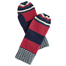 Buy Joules Bawdy Mittens, Pink Online at johnlewis.com