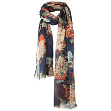 Buy Fat Face Elsie Floral Scarf Online at johnlewis.com