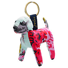 Buy Joules Floral Patch Keyring, Navy Online at johnlewis.com