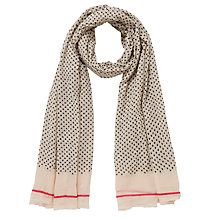 Buy Becksöndergaard Tulips Scarf, Natural Online at johnlewis.com