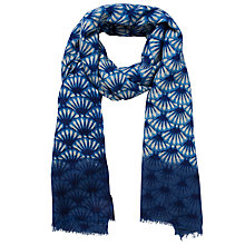 Buy Becksöndergaard Fanolia Scarf, Blue Online at johnlewis.com