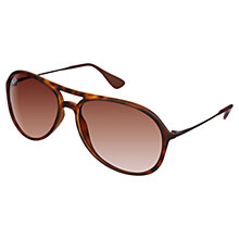 Buy Ray-Ban RB4201 Alex Aviator Rubber Sunglasses Online at johnlewis.com