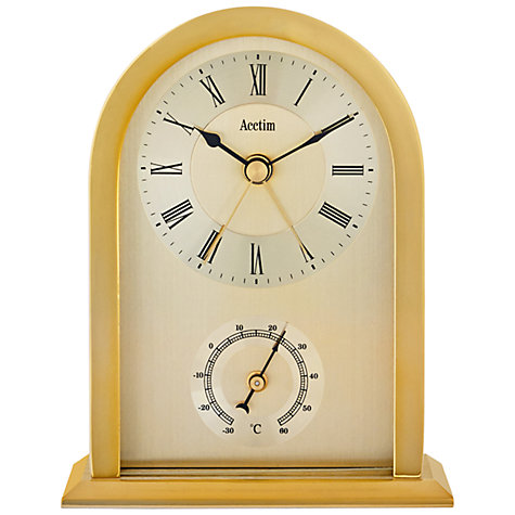 Buy Acctim Highgrove Mantel Clock, Gold Online at johnlewis.com