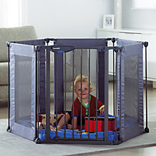Buy Lindam Safe and Secure Fabric Playpen Online at johnlewis.com