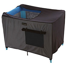 Buy Snoozeshade For Travel Cot, Black Online at johnlewis.com