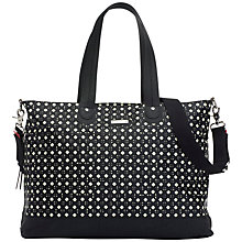 Buy Storksak Tote Changing Bag, Mini Triangles Online at johnlewis.com