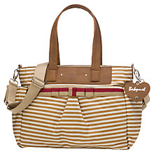 Buy Babymel Cara Changing Bag, Stripe Tan Online at johnlewis.com