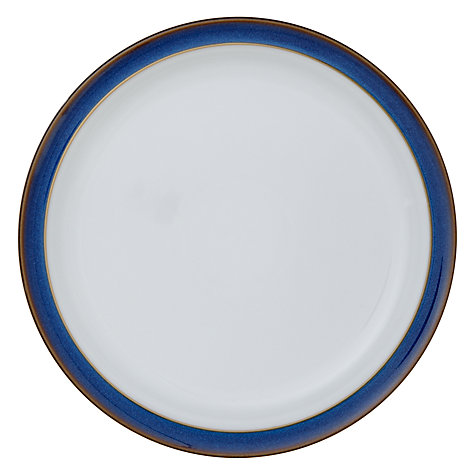 Buy Denby Imperial Blue Tea Plate Online at johnlewis.com
