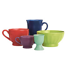 John Lewis Colours Tableware