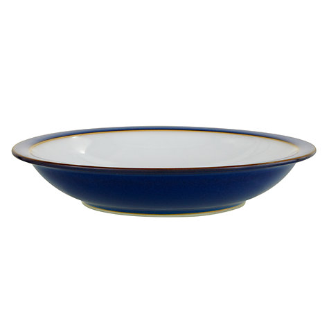 Buy Denby Imperial Blue Soup Plate Online at johnlewis.com