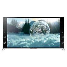 "Buy Sony Bravia KD65X9005 LED 4K Ultra HD 3D Smart Wedge TV, 65"", NFC with Freeview HD with HT-CT370 Sound Bar & Subwoofer, Black Online at johnlewis.com"