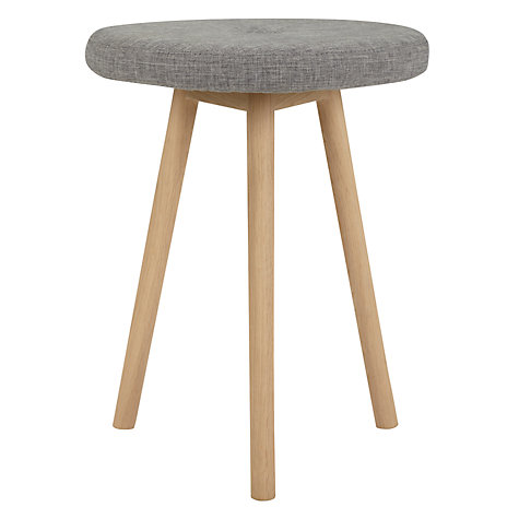 Buy Bethan Gray for John Lewis Genevieve Stool, FSC Oak Online at johnlewis.com