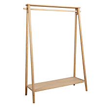 Buy Bethan Gray for John Lewis Genevieve Hanging Rail, FSC Oak Online at johnlewis.com