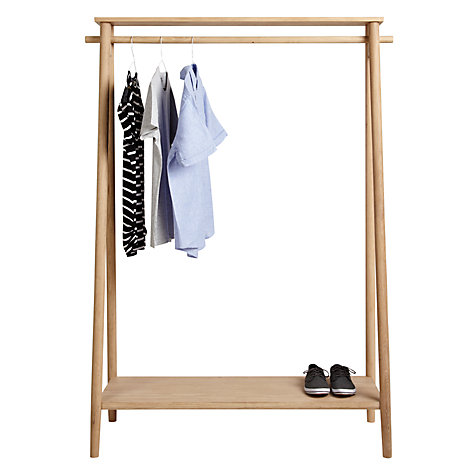 Buy Bethan Gray for John Lewis Genevieve Hanging Rail, Oak Online at johnlewis.com