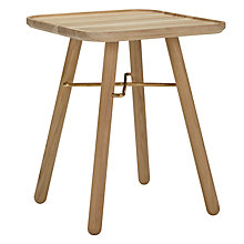 Buy John Lewis Hatten Bedside Table, FSC Oak Online at johnlewis.com