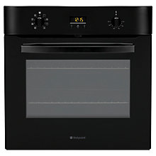 Buy Hotpoint SH83CKS Single Electric Oven, Black Online at johnlewis.com