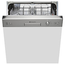 Buy Hotpoint LSB5B019XUK Semi-Integrated Dishwasher Online at johnlewis.com