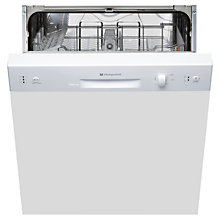 Buy Hotpoint LSB5B019WUK Integrated Dishwasher Online at johnlewis.com