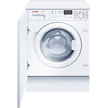 Buy Bosch WIS28441GB Integrated Washing Machine, 7kg Load, A+ Energy Rating, 1400rpm Spin Online at johnlewis.com