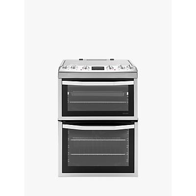 John Lewis JLFSMC613 Dual Fuel Cooker, Stainless Steel