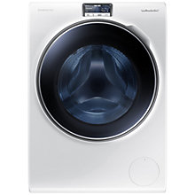 Buy Samsung WW10H9600EW Freestanding Washing Machine, 10kg Load, A+++ Energy Rating, 1600rpm Spin, White Online at johnlewis.com