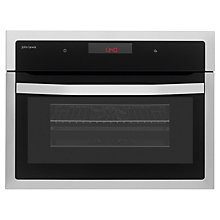 Buy John Lewis JLBIC03 Built-in Combination Microwave, Stainless Steel Online at johnlewis.com