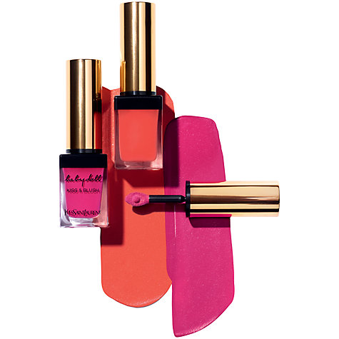 Buy Yves Saint Laurent Kiss And Blush Lip & Cheek Stain Online at johnlewis.com