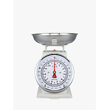 Buy John Lewis Classic Mechanical Kitchen Scale, 5kg Online at johnlewis.com