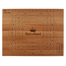Buy Home Made Beech Pastry Board Online at johnlewis.com