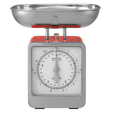 Buy John Lewis Retro Mechanical Kitchen Scale, 5kg Online at johnlewis.com