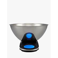 Buy John Lewis Slimline Digital Kitchen Scale with Stainless Steel Bowl, 5kg Online at johnlewis.com