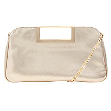 Buy MICHAEL Michael Kors Berkley Leather Clutch Handbag Online at johnlewis.com