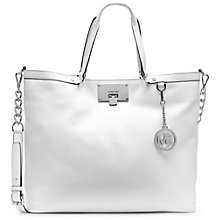 Buy MICHAEL Michael Kors Channing Large Leather Shoulder Bag Online at johnlewis.com