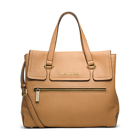 Buy MICHAEL Michael Kors Mackenzie Large Leather Tote Bag Online at johnlewis.com