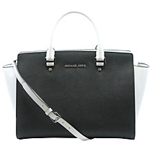 Buy MICHAEL Michael Kors Selma Small Top-Zip Satchel Bag Online at johnlewis.com