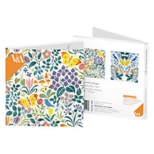 Buy Museums & Galleries Voysey Textile Design Notecards, Pack of 8 Online at johnlewis.com