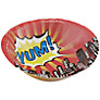 Ginger Ray Pop Art Yum Paper Bowls, Set of 8