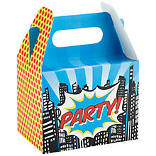 Buy Ginger Ray Pop Art Party Boxes, Set of 5 Online at johnlewis.com